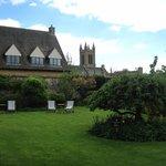 hotel back garden