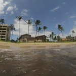 Kihei Sands Complex as seen from the water