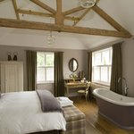 Our beautiful Ingwe room overlooking the spectacular Surrey Hills