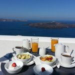 Breakfast Every Morning on Private Balcony
