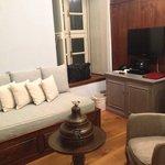 Il salottino della nostra piccola suite