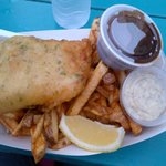 Fish and Chips with Homemade Tartar sauce and gravy