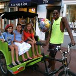 Birthdays, anniversaries, or any other great occasion - pedicabs are a great way to celebrate!