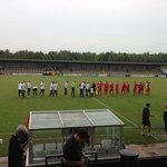 the teams are out !!