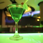 Un Green Apple Martini