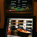 iPad controlling the TV