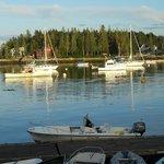 Harbor at Five Islands