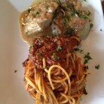 Pork with pasta