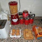 La colazione:)