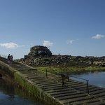 pontile di roscoff bassa marea