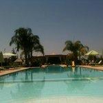 La piscine du Domaine de l'Ourika