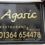 Agaric Restaurant, 30 North St., Ashburton, Devon