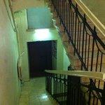 interno scale dal pianerottolo delle scale