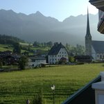 The village of Maria Alm (AT) & it's Church.