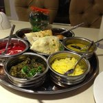 non veg thali - enormous and v good