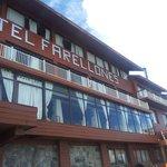 Photo de Restaurante do Hotel Farellones