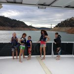 Fun on the party boat