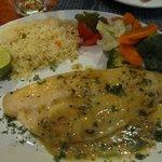 Garlic butter fish