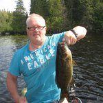 Wigwam Lake Small mouth.