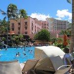 Pool fun at Sheraton Waikiki Resort