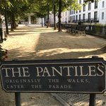 The Pantiles near The Tunbridge Wells Hotel