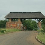 Mopani Camp Entrance Gate