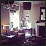 Petit salon de l'hotel