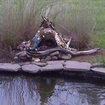 Fairy House by the pond.