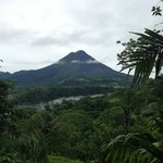 View from the room of Arenal