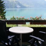 Balkony with view  to Lake Brienz