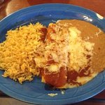 enchilada rice and beans