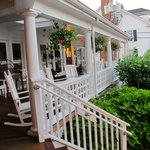 Front porch--great gathering spot