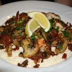 Southern Landing's Signature Shrimp and Grits