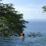 plunge pool in villa