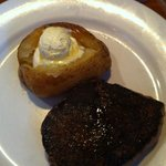 Another outback steak, looks sad doesn't it?
