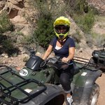ATVing! Spotted a mamma and baby bear too.