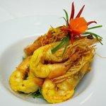 Curry Prawns