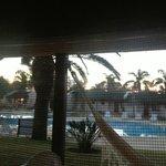 vista desde la cómoda hamaca paraguaya...