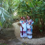 our housekeepers in the garden