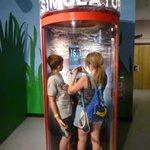 Hurricane simulator booth