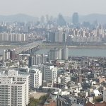 View from the room over the Han river