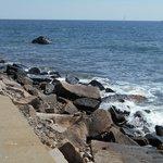 Rocks at Point Judith