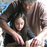 Passing on the secrets of papermaking to the next generation.