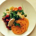 Heirloom Tomato and jArugula Salad