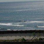 View from Restaurant on Uluwatu beach!!