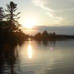 Sunset on Hayward Lake