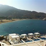 View from the balcony, Ios Palace, Ios