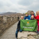Here we are with Ricky at The Great Wall