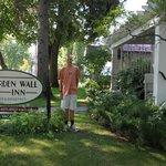 Front of Garden Wall Inn