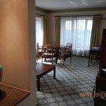 small hallway of room
